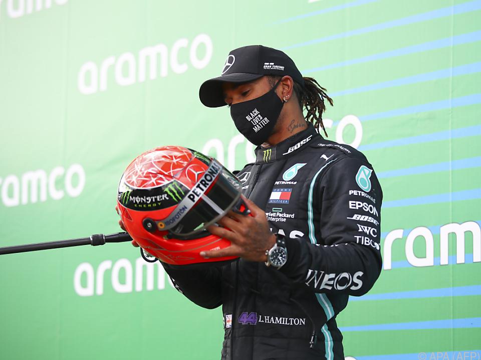 Hamilton kann am Sonntag seinen siebenten Weltmeister-Titel fixieren