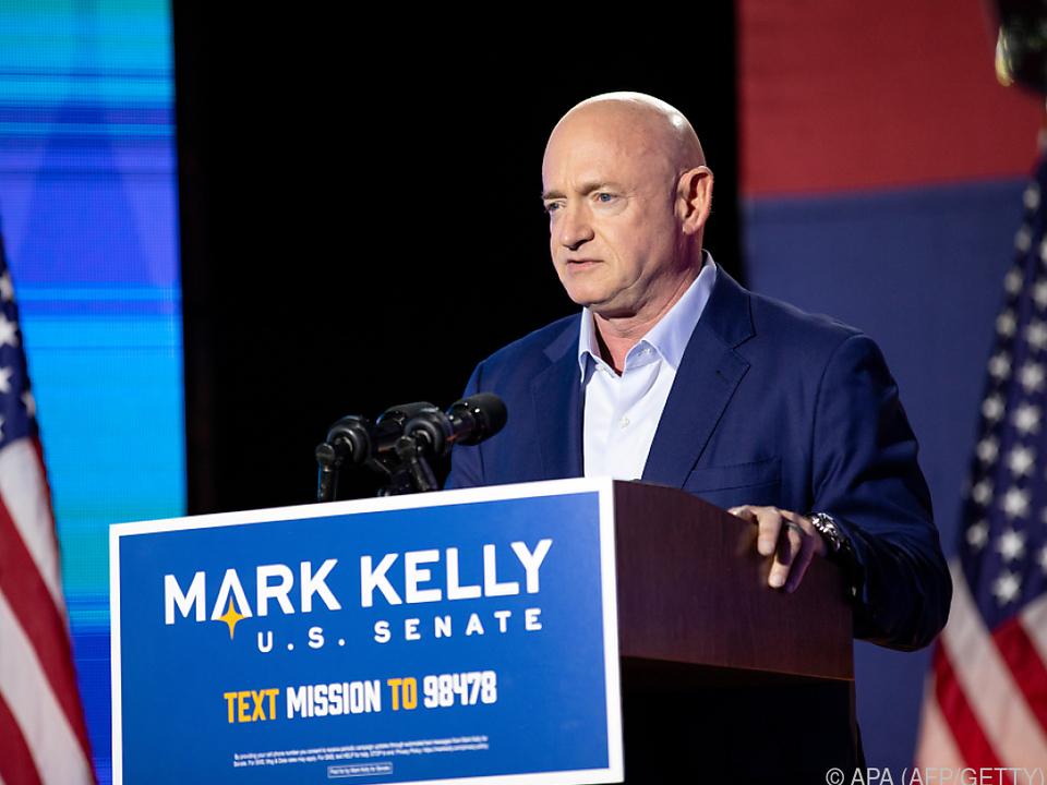 In Arizona setzte Ex-Astronaut Kelly für die Demokraten durch