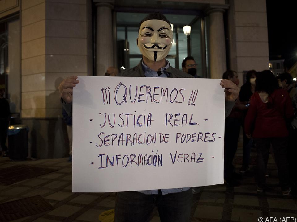 In mehreren spanischen Städten kam es zu Protesten