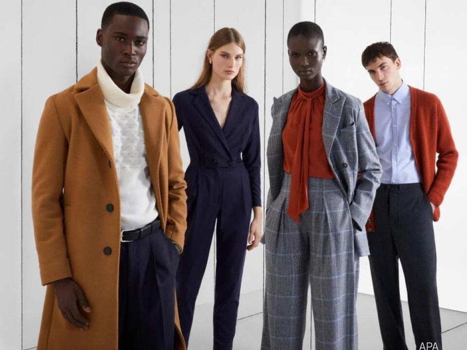 Italienische Modestudenten entwarfen die Kollektion