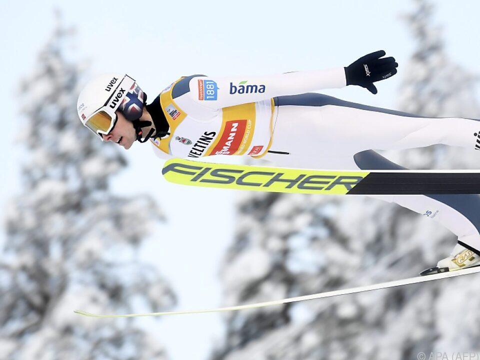 Jarl Magnus Riiber sprang am weitesten und lief am schnellsten