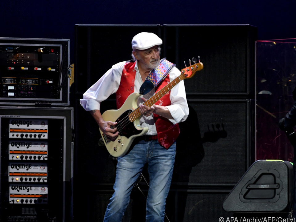 John McVie ist das Rückgrat der Band
