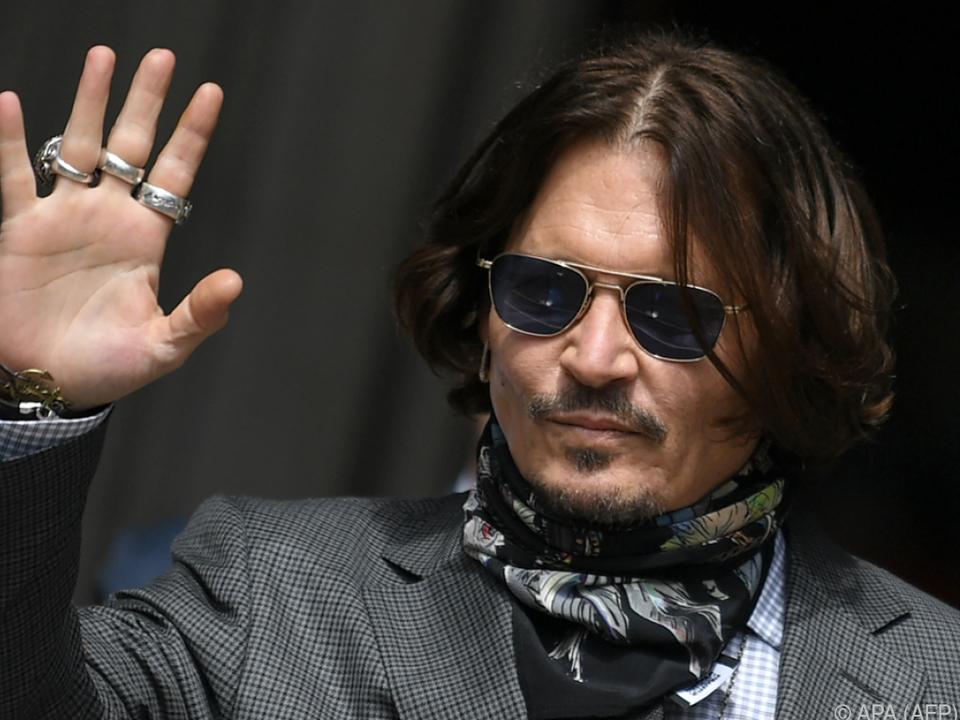 Johnny Depp kann Niederlage kaum noch abwehren