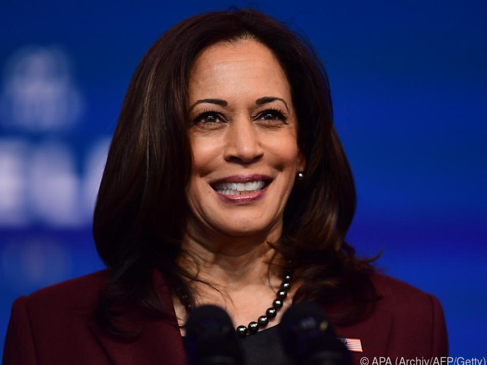Kamala Harris ist die erste US-Vizepräsidentin