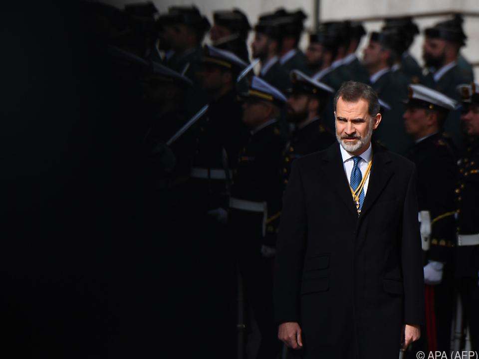 König Felipe VI. verbringt die Quarantäne im Zarzuela-Palast