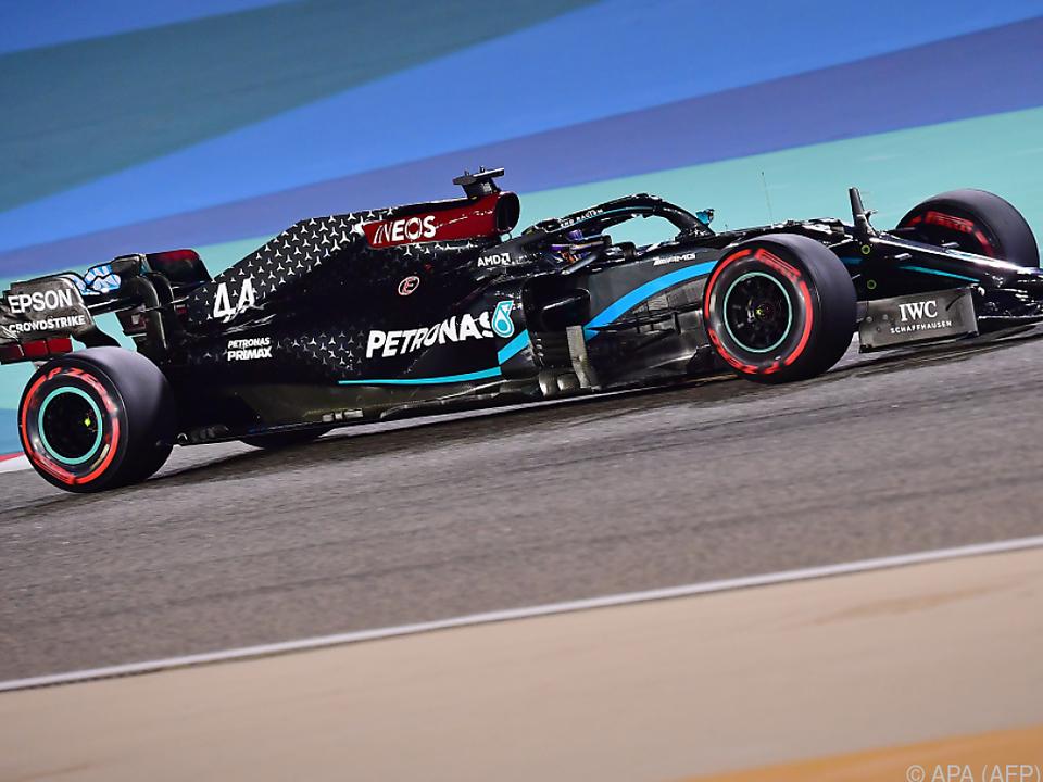 Lewis Hamilton wieder einmal der Schnellste im Qualifying