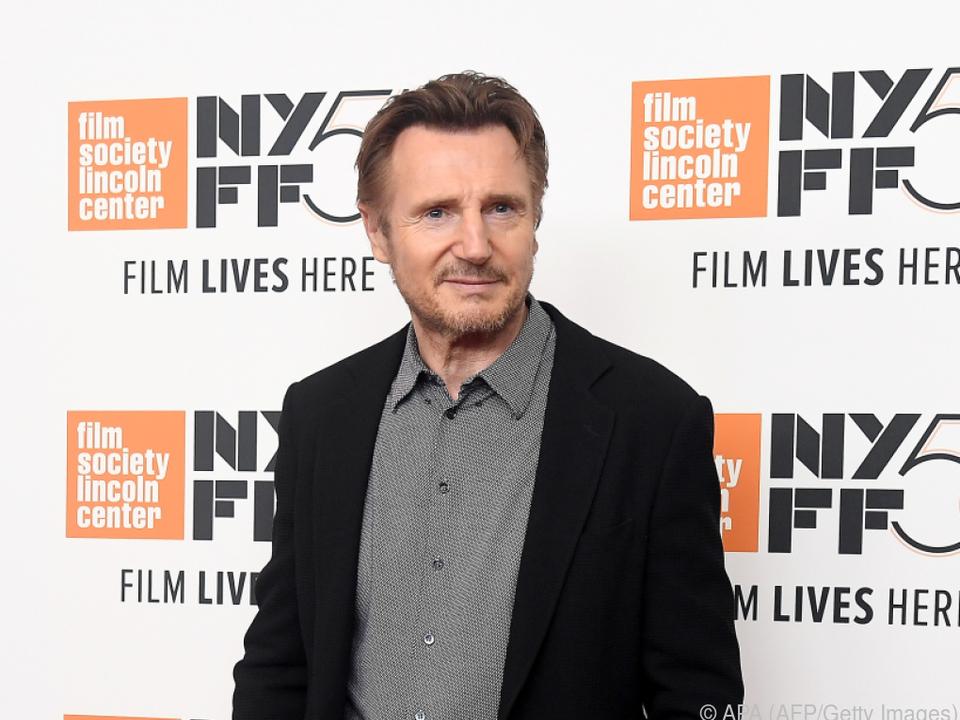 Liam Neeson dreht auch mit 68 Jahren noch Actionfilme