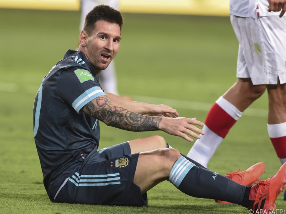 Lionel Messi reagierte auf Steuerbehörden genervt