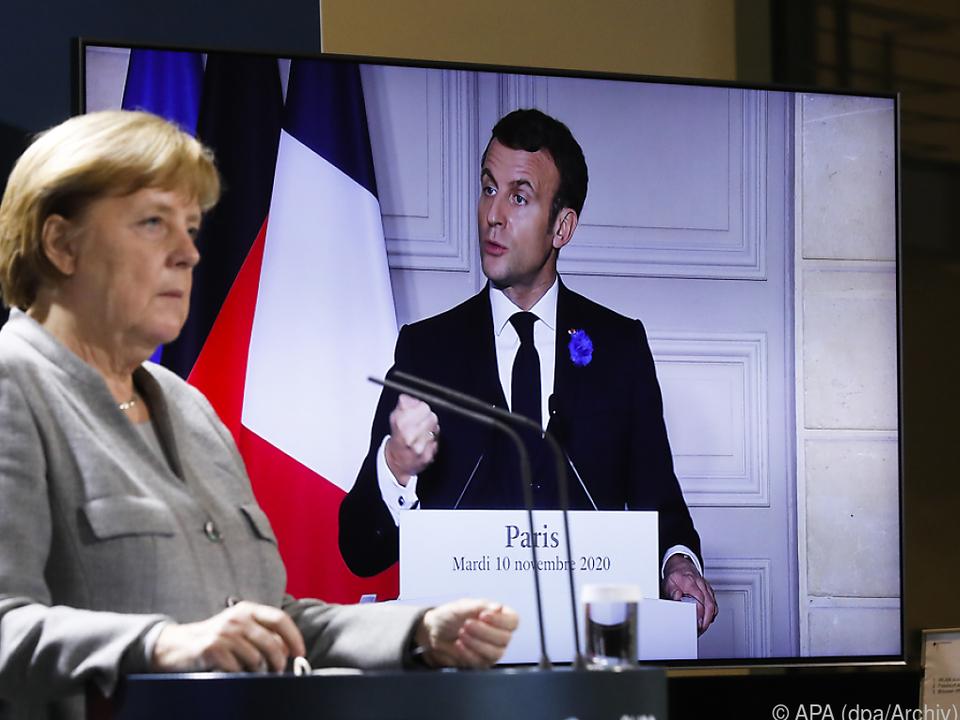 Macron und Merkel geben den Takt vor