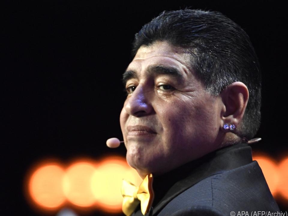 Maradona mit gesundheitlichen Problemen