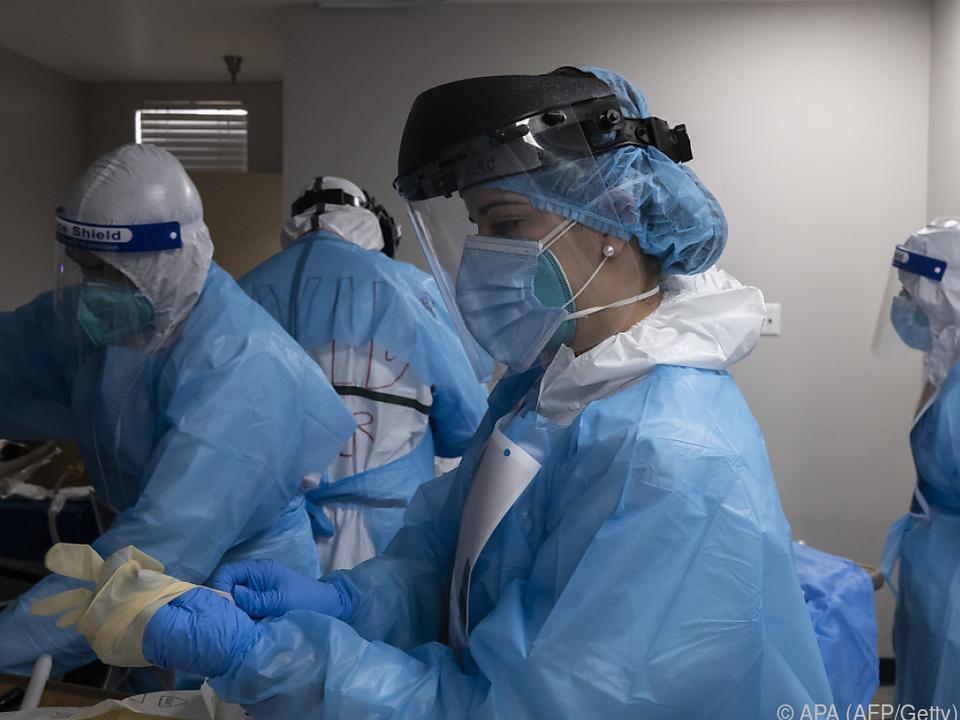 Medizinisches Personal am Limit