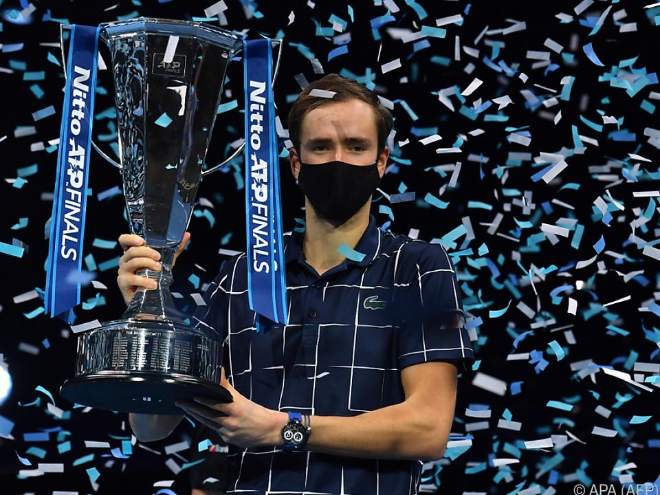 Medwedew holte seinen bisher größten Titel