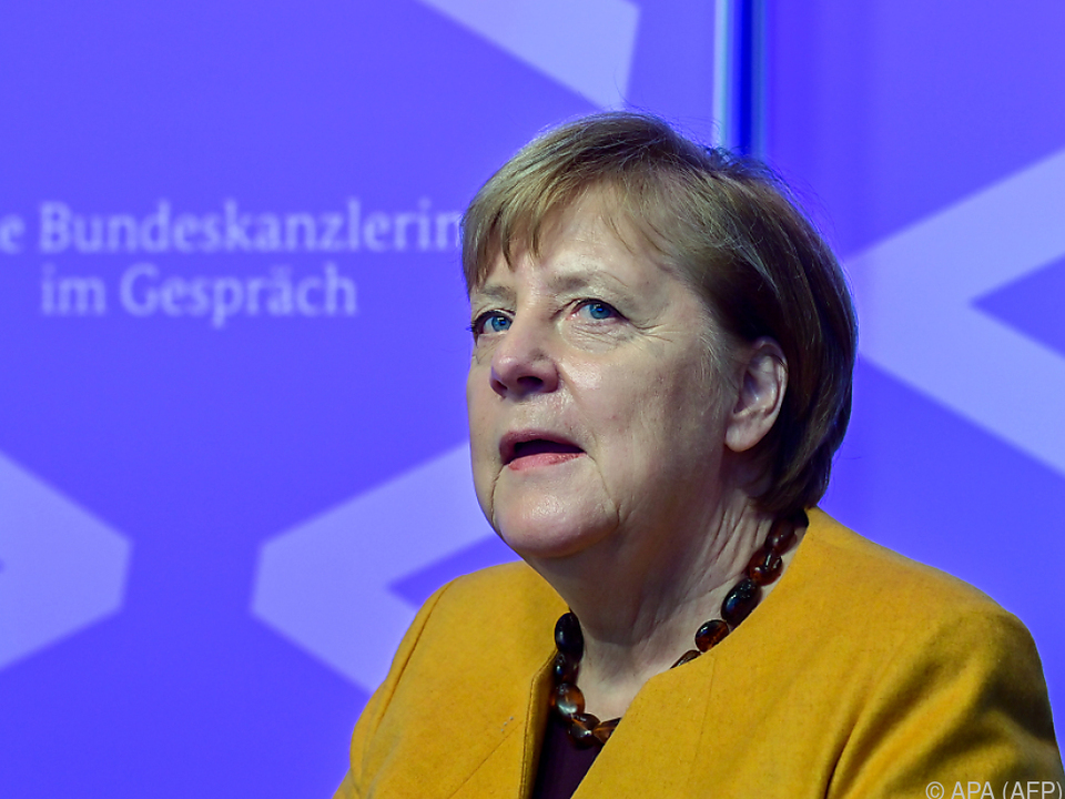 Merkel erwartet schwierigen Winter