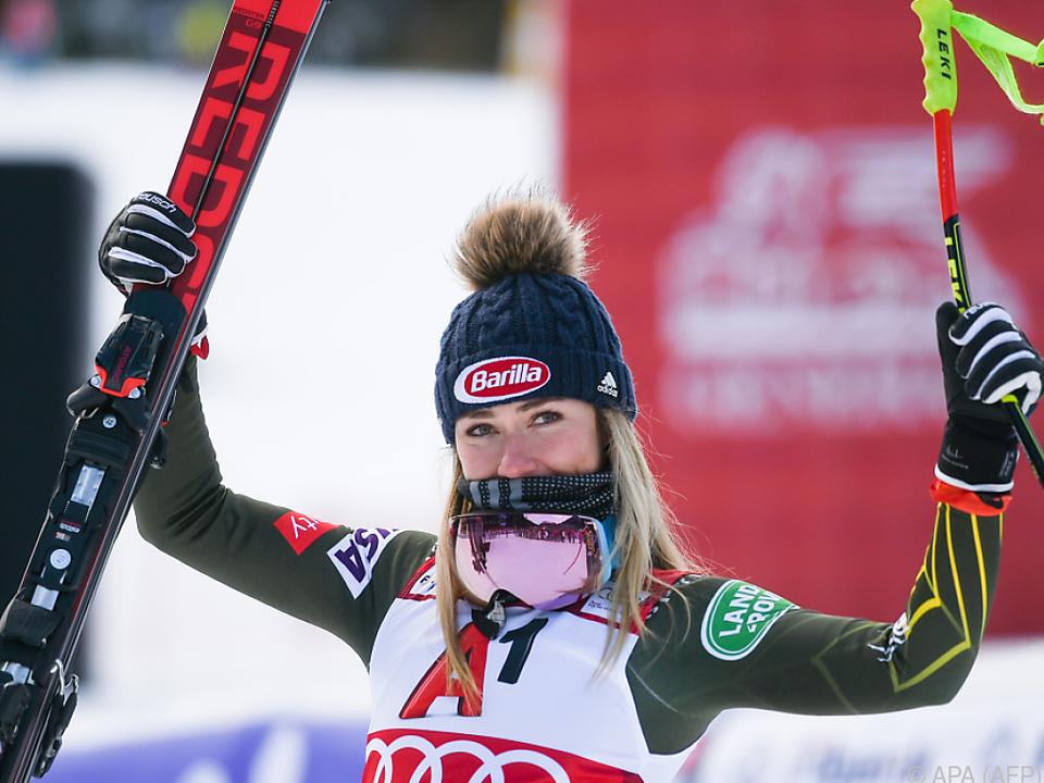 Mikaela Shiffrin denkt aktuell nicht an den Gesamtweltcup