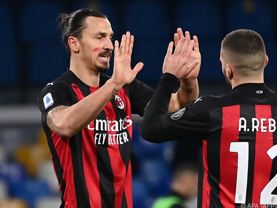 Milan ist in der Liga noch ungeschlagen