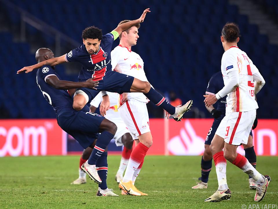 Mit Engagement und einem Treffer wahrte PSG die Aufstiegschance
