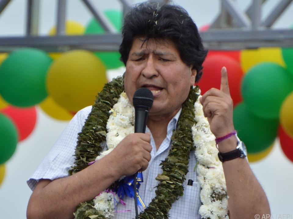 Nach Exil im Ausland kehrte Evo Morales wieder nach Bolivien