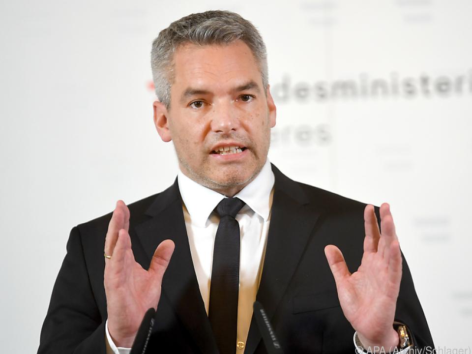 Nehammer nimmt für Österreich teil