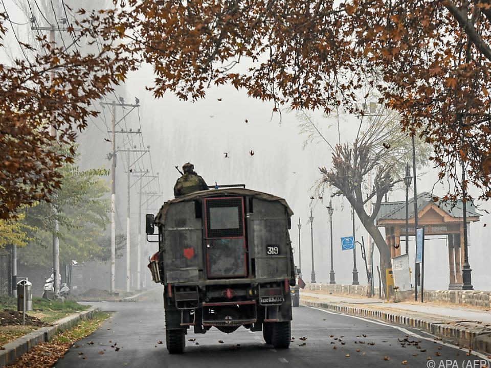 Neuerlich Gefechte in der Konfliktregion Kaschmir