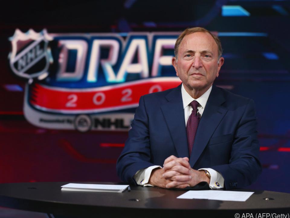 NHL-Commissioner Gary Bettman