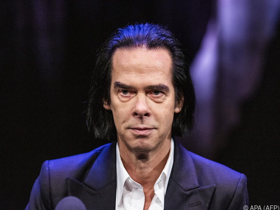 Nick Cave lieferte am 23. Juli ein Streamingevent