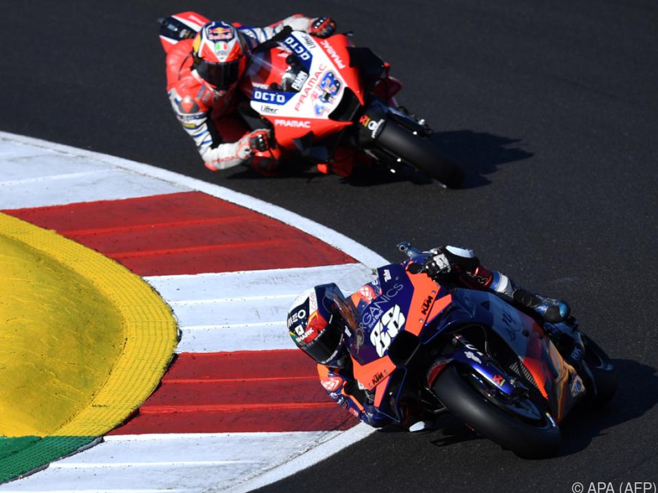 Oliveira fuhr KTM die nächste Pole Position ein