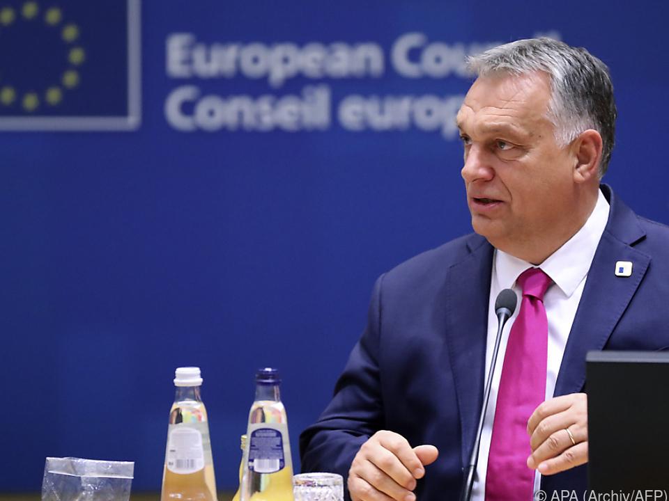 Orban gegen EU-Rechtsstaatsmechanismus