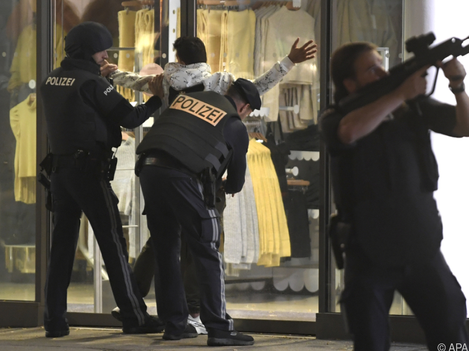 Polizeieinsatz läuft auf Hochtouren