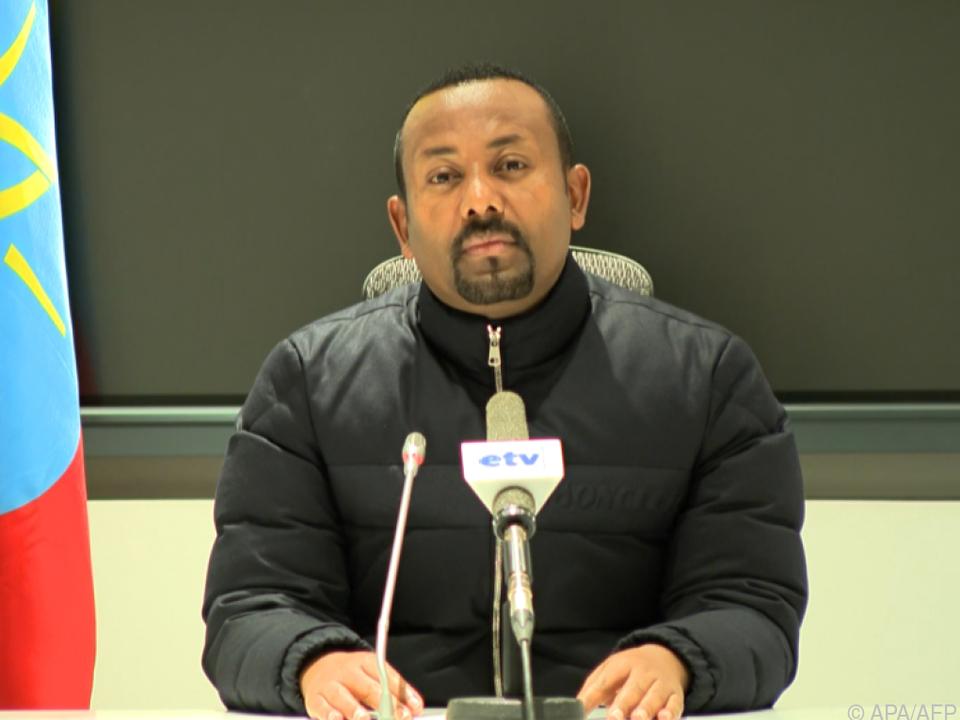 Premier Abiy ist im Krieg mit Region Tigray