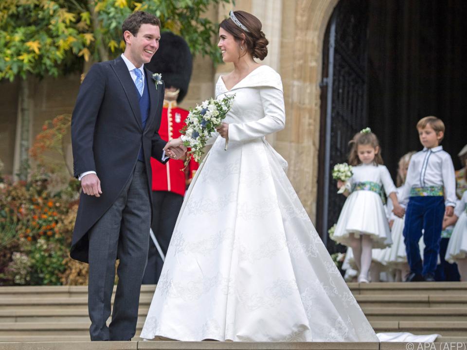 Prinzessin Eugenie und Jack Brooksbank gaben sich 2018 das Ja-Wort