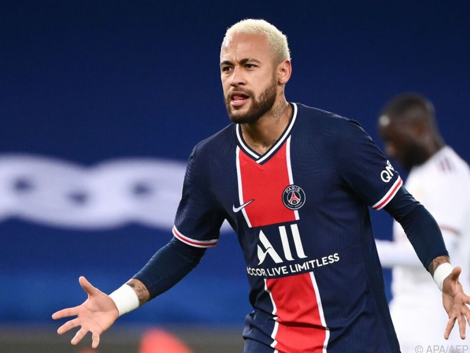 PSG-Star Neymar feiert seinen 50. Treffer in der französischen Ligue 1