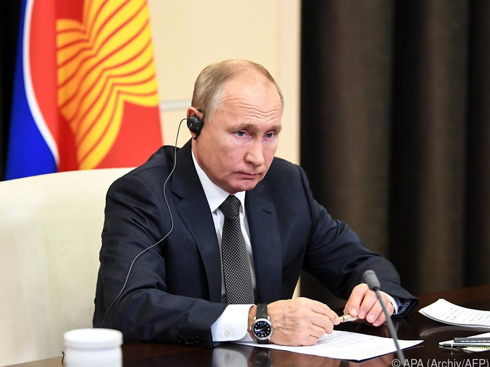 Putin leitet virtuellen BRICS-Gipfel