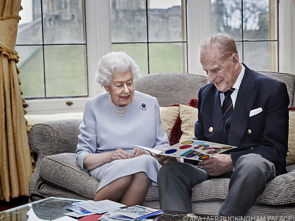 Queen Elizabeth und Prinz Philip heirateten am 20. November 1947