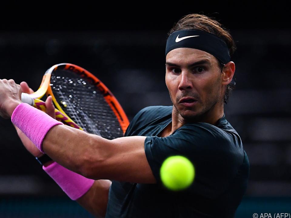 Rafael Nadal bleibt auf Kurs