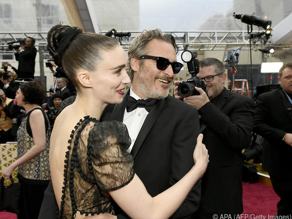 Rooney Mara und Joaquin Phoenix sind seit kurzem selbst Eltern