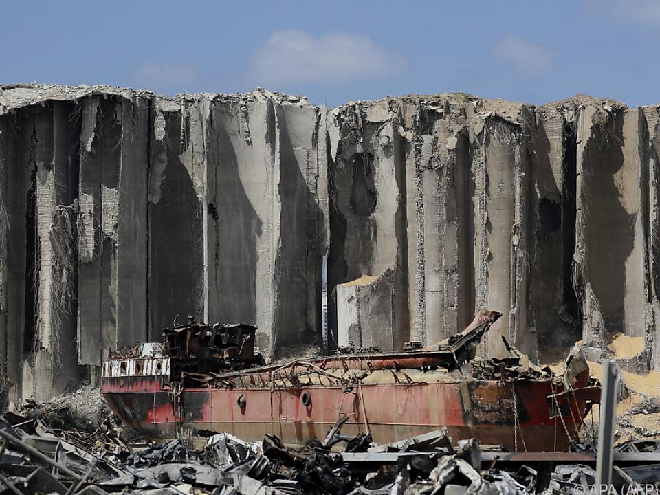 Rund 2.750 Tonnen ungesichertes Ammoniumnitrat waren explodiert