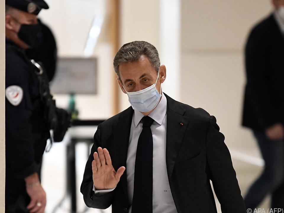 Sarkozy meldete sich erstmals zu Wort