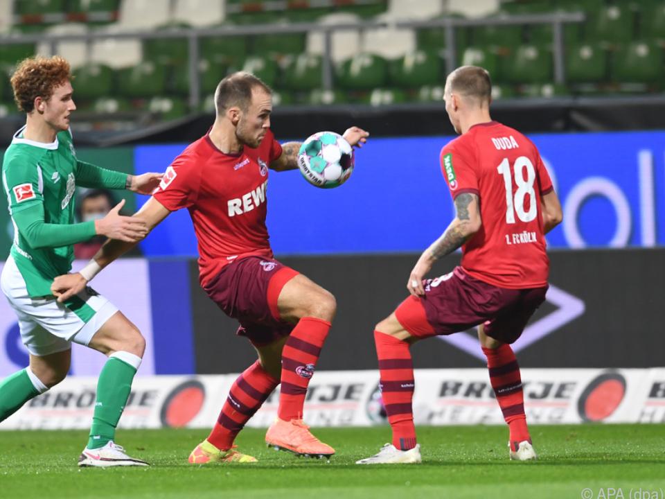 Schwaches Auswärtsspiel vom FC Köln