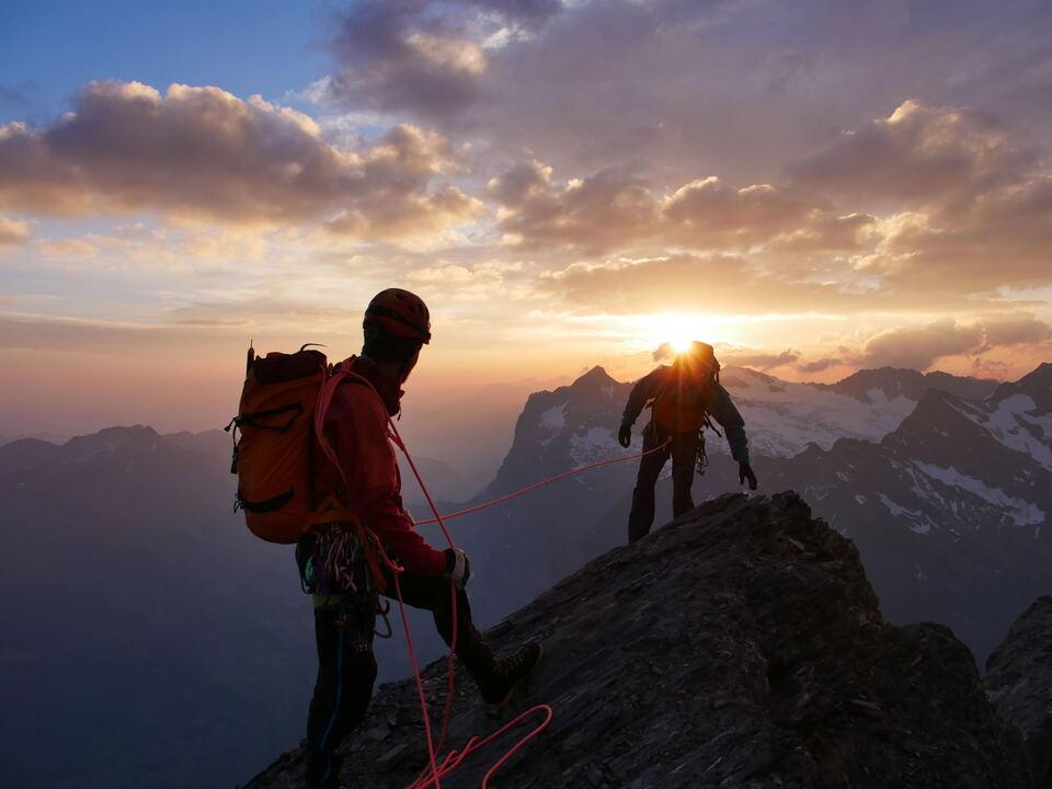 bergsteigen alpinismus klettern Seilschaft_c_Simon-Kehrer-AVS