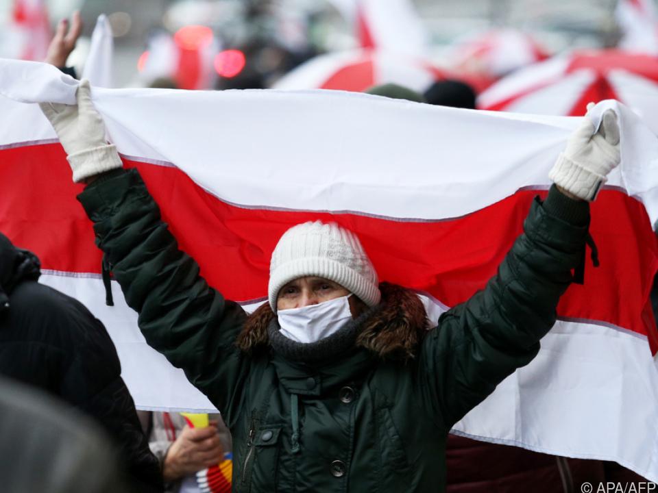 Seit Monaten Proteste in Belarus
