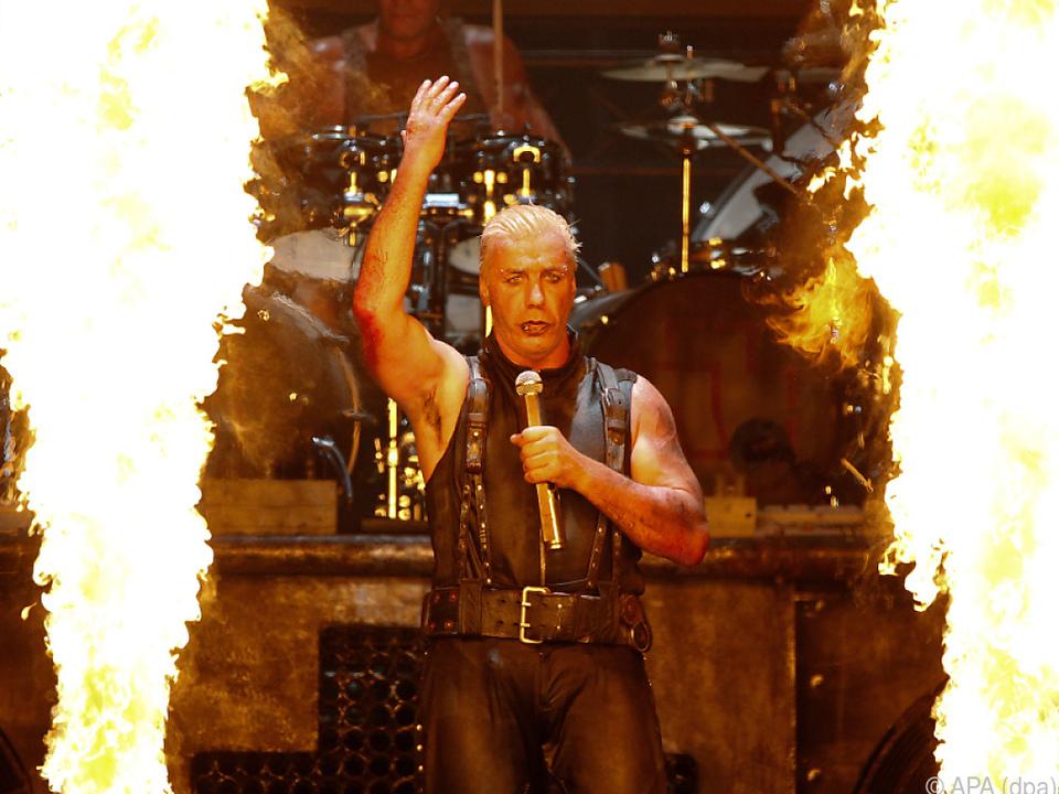 So kennt man Rammstein-Sänger Till Lindemann (2013)
