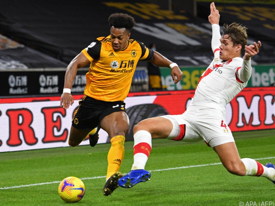 Southampton und Wolverhampton trennten sich 1:1