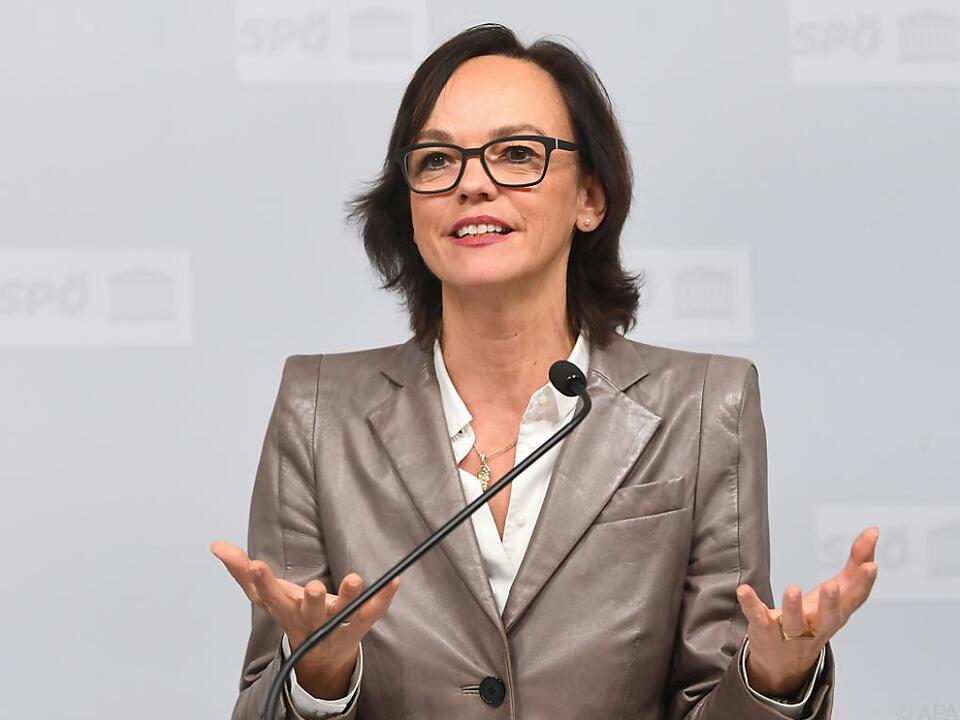 SPÖ-Bildungssprecherin Sonja Hammerschmid übt Kritik