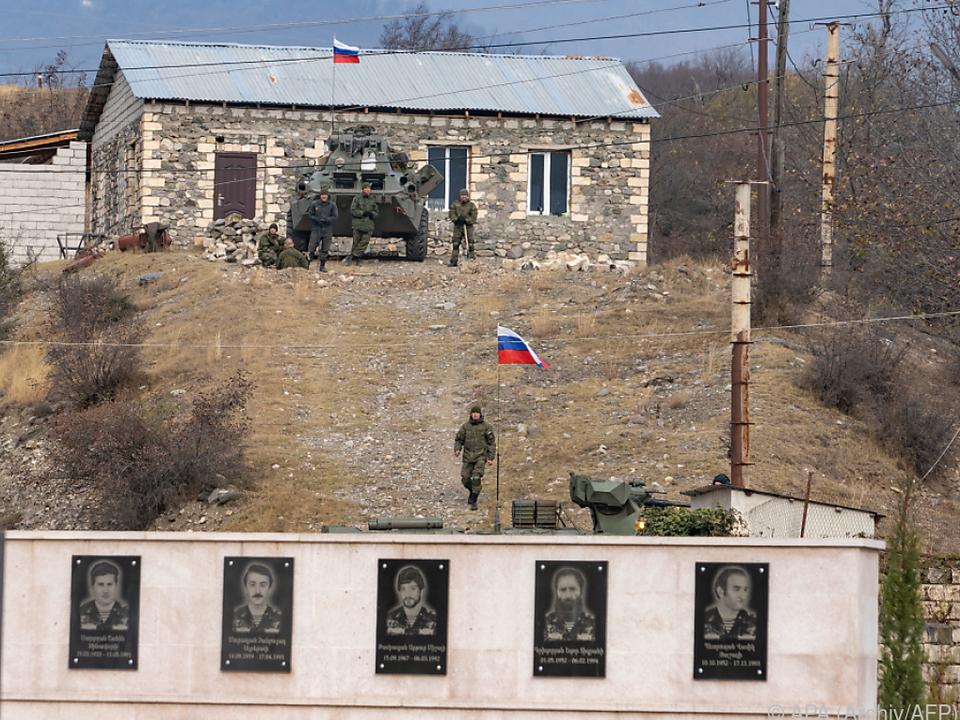 Stationierung der russischen Schutztruppe dauert an