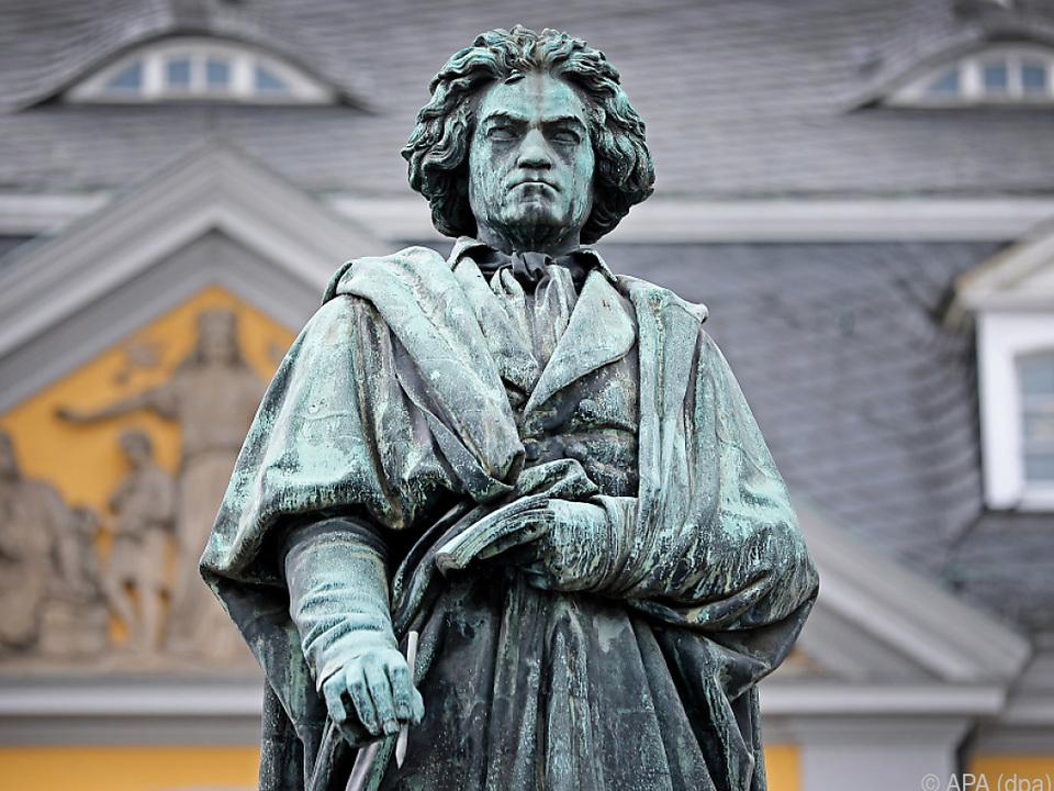 Statue von Ludwig van Beethoven in Bonn