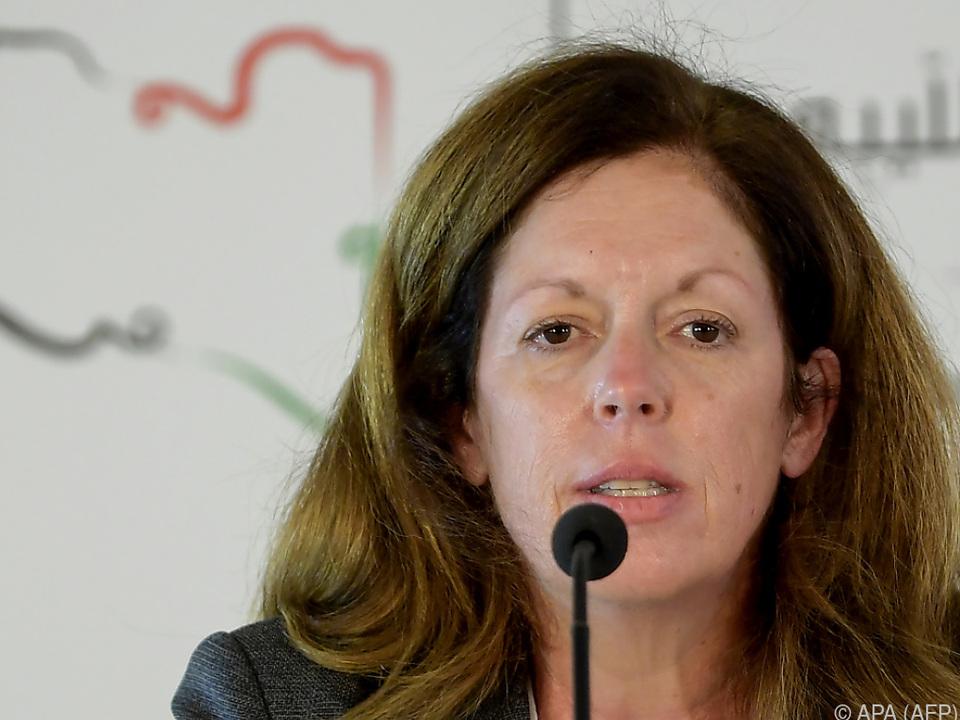 Stephanie Williams eröffnete die Konferenz