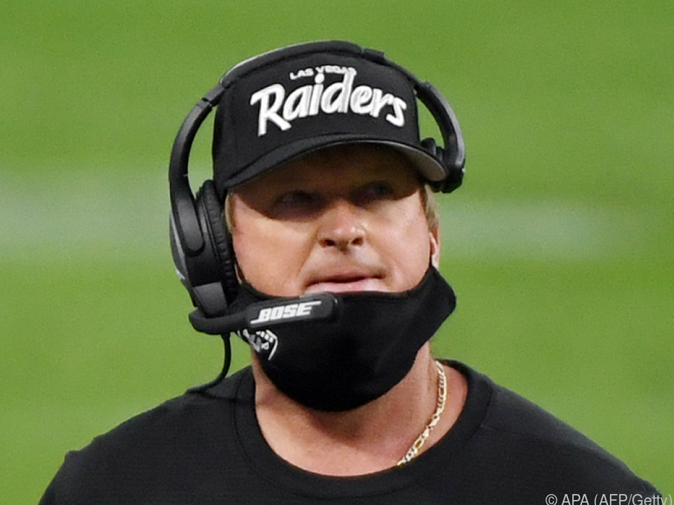 Strafe für Raiders-Coach Jon Gruden