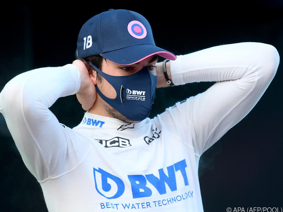 Stroll fuhr im Qualifying Bestzeit vor Verstappen und Perez
