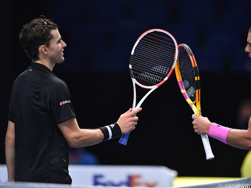 Tolles Match von Thiem gegen Nadal