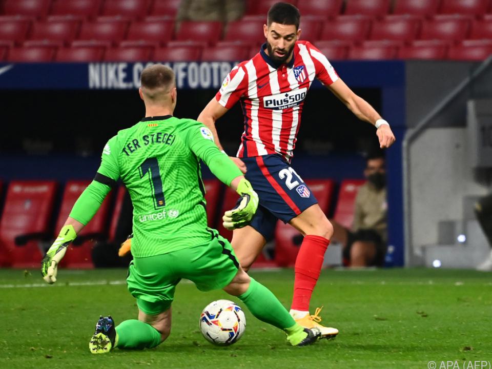 Torschütze Carrasco düpiert Barca-Keeper Ter Stegen